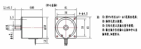 ktyz齿轮减速永磁同步电机